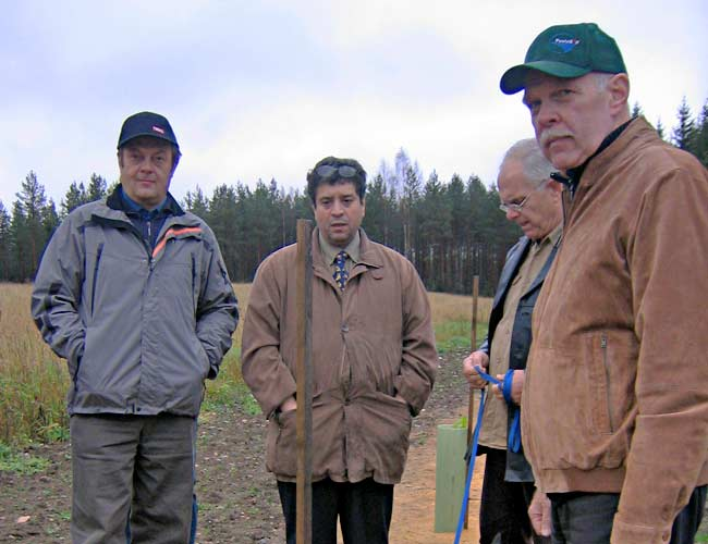 truffle project in Juvai, Finland - team leader Salem Shamekh